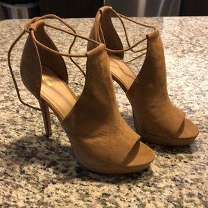 Kohl's Apt 9 Strappy self-tie heels